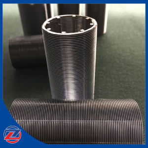 Stainless Steel V Shape Wedge Wire Wrapped Johnson Screen Filter pictures & photos
