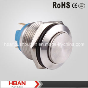 Hban CE RoHS (19mm) High Pin Terminal Power Switch pictures & photos
