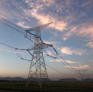 750kv Transmission Angle Steel Tower