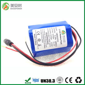 6 Cells 12V 5000mAh Lithium Battery Pack pictures & photos
