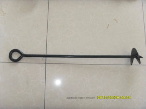 HDG or Powder Coated Ground Anchor, Earth Auger pictures & photos