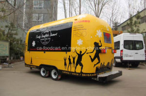 New Product, High Quality Mobile Food Trailer, Food Van pictures & photos