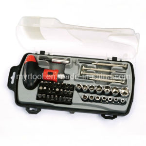 Hot Sale-CRV&Carbon Steel, 45PC Hand Tool Set (FY1045B) pictures & photos