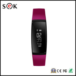 V07 Blood Pressure Smart Bracelet with Heart Rate Monitor Watch Fitness Tracker Pedometer Bluetooth 4.0 Wristband pictures & photos
