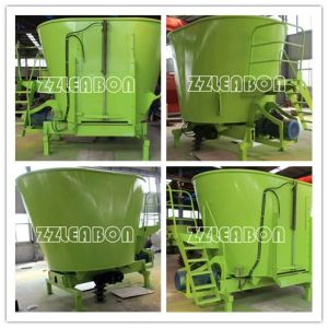 Dairy Farm Equipment Tmr Cow Fodder Mixer for Sale pictures & photos
