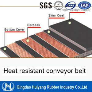Power Station Ep Heat Resistant Rubber Conveyor Belt
