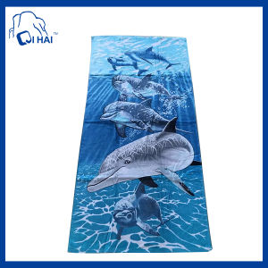 100% Cotton Dolphin Beach Towel (ACDD5434)
