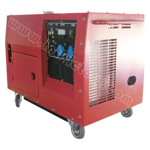 10kw Silent Twin Cyliner Gasoline Generator for Household pictures & photos