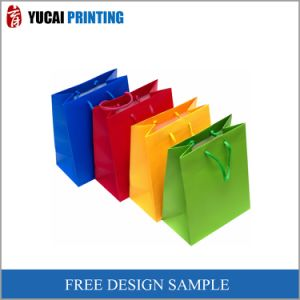 Corlorful Shopping Paper Bag Clothing Paper Bag pictures & photos