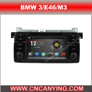 Car DVD Player for Pure Android 4.4 Car DVD Player for BMW 3/E46/M3 with A9 CPU Capacitive Touch Screen GPS Bluetooth (AD-7460)