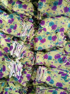 Flower Garden Gloves with Nitrile on Palm