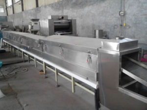 Industrial Extrusion Food Tunnel Dryer Dehydrator Machine for Drying Snack Nutritional Food pictures & photos
