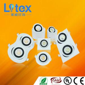 3W 2*3W 6W 2*6W Pkw Aluminum LED COB Spot Light for Indoor Decoration (LX338SF/6W)