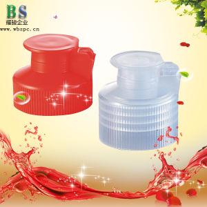 Dishwashing Liquid Plastic Flip Top Cap pictures & photos