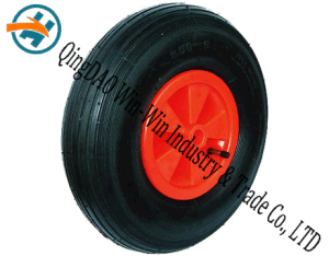 Pneumatic Rubber Wheel for Hand Truck Wheel (3.50-6) pictures & photos
