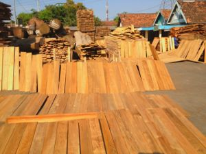 Foshan Stock Burmese Teak Outdoor Wooden Decks for Boat
