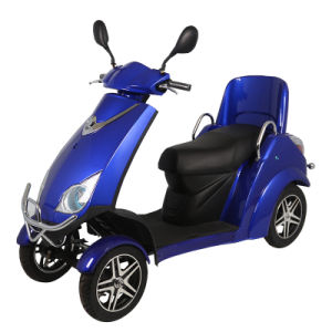 China High Quality 4 Wheel Disabled Tricycle pictures & photos