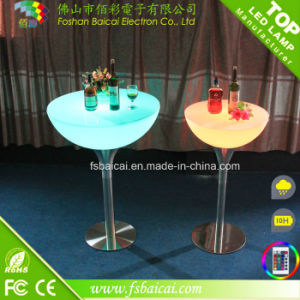 Color Change Acrylic LED Illuminated Bar Table with CE&RoHS