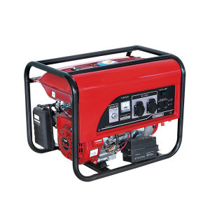 5.5 6.5HP Portable Gasoline Generator with CE pictures & photos