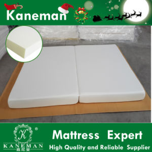 Factory Supply Bamboo Fabric High Density Folding Foam Travel Mattress pictures & photos