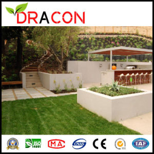 Balcony Use Garden Decoration Artificial Grass Yarn (L-2505) pictures & photos