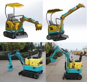 Best Price Garden Farm Mini Skid Track Excavator Loader, 0.8 Ton Crawler Hydraulic Digger, Mini Excavator pictures & photos