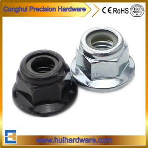 Nylon Insert Hex Flange Lock Nuts pictures & photos