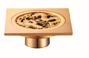Popular Design Bathroom Brass Floor Drain pictures & photos