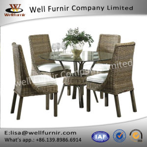 Well Furnir Wicker 5 Piece Dining Set pictures & photos