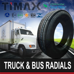 Heavy Duty Truck DOT Smartway 295/75r22.5+285/75r24.5 Radial Tire pictures & photos
