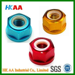 Anodized Aluminum Nuts with Nylon Spacer pictures & photos