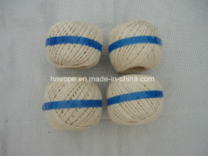 Cotton 3 Strands Twisted Twine White Red Food Grade pictures & photos