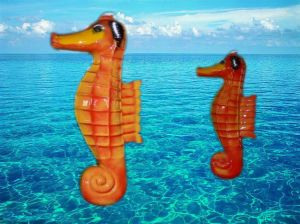 Water Toys ,Fiberglass Sea Horse Fountain (ZC/FA/Sea Horse) pictures & photos