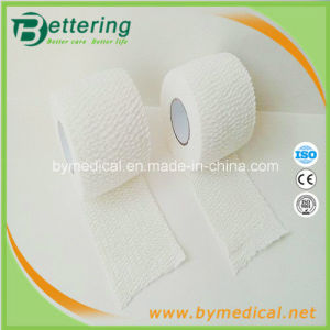 Hand Tearing Light Wrap Cotton Elastic Adhesive Bandage pictures & photos