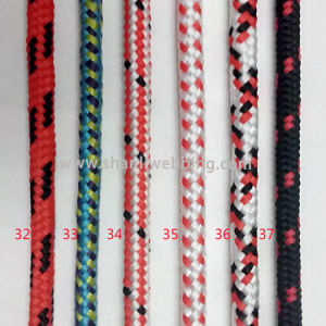 Mixed Color Striped Braided PP/ Polypropylene Rope pictures & photos