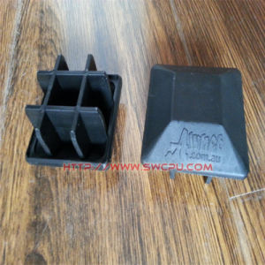 Black Nylon Plastic Square End Cap/Stopper for Tube pictures & photos