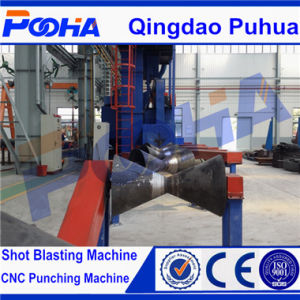 Qgw Steel Pipe Surface Shot Blasting Machine for Derusting pictures & photos