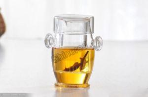 Creative High Borosilicate Glass Black Tea Cup pictures & photos