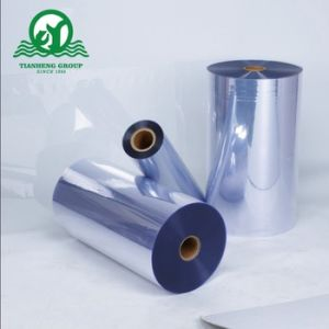 Orange Pharmaceutical Packing Plastic Film PVC pictures & photos