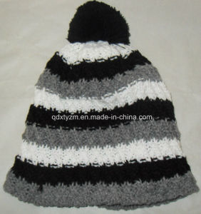 Fashion Women Pompom Winter Beanie Cap and Hat