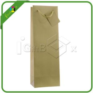 Luxury Custom Paper Wine Bags pictures & photos
