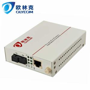 10/100Mbps Wdm 20km Single Fiber Media Converter