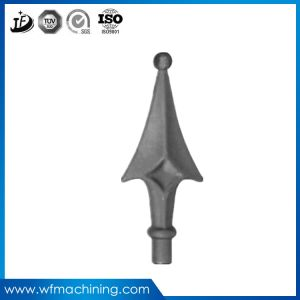 OEM Wrought Iron/Stainless Steel/Metal Casting Spearhead with Cast Process pictures & photos