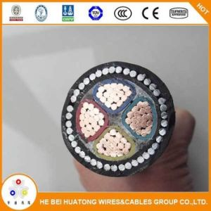 China Supply Copper Conductor PVC Insulation PVC Sheath Steel Wire Armored Power Cable Made in China pictures & photos