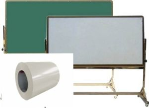 0.4mm Green or White Writing Board in Coils Raw Material pictures & photos