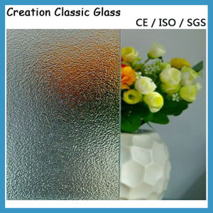 5mm Clear Patterned Glass/Rolled Glass/Figured Glass/Art Glass pictures & photos