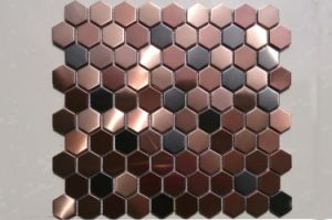 Stainless Steel Metal Mosaic Tiles for Swimming Pool Mosaic pictures & photos