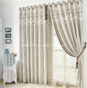 Thermal Insulated Luxury Chenille Grommet Panel/Curtain (SZSMECP005)