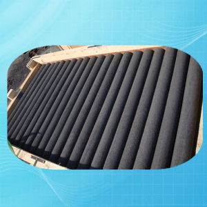 Density 1.75g/cm3 Grain Size 0.8mm Vibration Graphite Rod pictures & photos