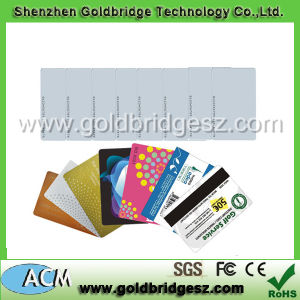 China Manufacture Custom Ntag203 Chip Plastic Printable Writable 13.56MHz RFID Card